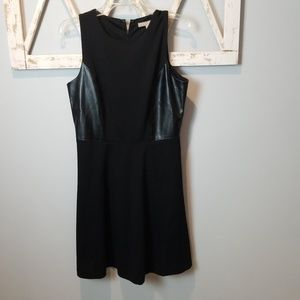 {Banana Republic} faux leather panels dress (8)